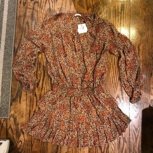 NWT Loveshackfancy Popover Dress Large